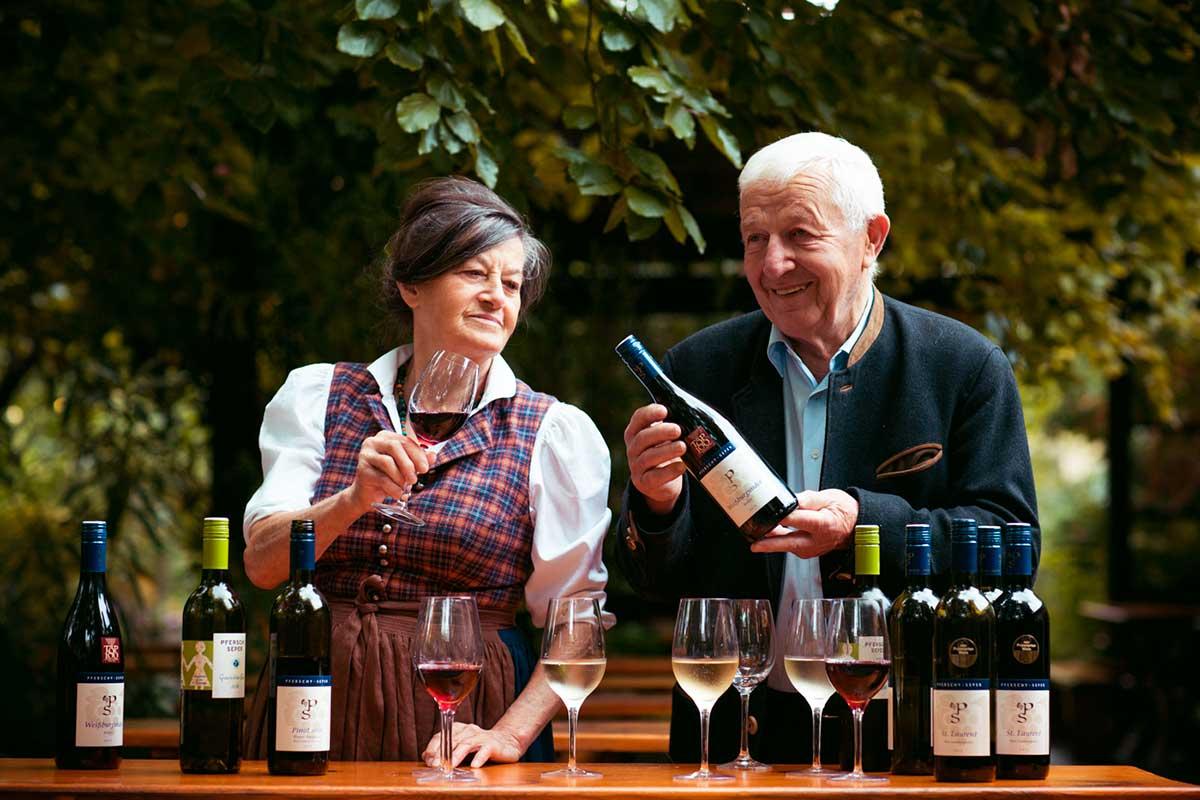 Weingut - Pferschy-Seper in 4. Generation von Frauenhand geführt